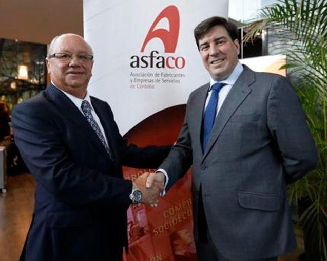 Jesús Coca, de Montero Aramburu, presidente de Asfaco